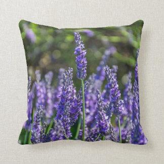 Lavender throw cushion