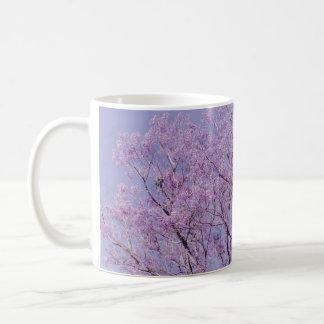 Lavender Tree Photograph Coffee Mug