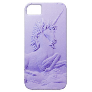 Lavender Unicorn in Forest Glade by Sharles iPhone 5 Cases