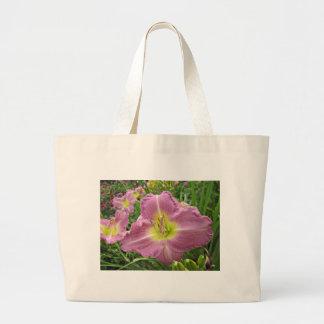 Lavender Vista Daylily Tote Bag