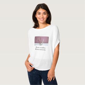 """Lavender """"warm weather, warm memories"""" t-shirt"""