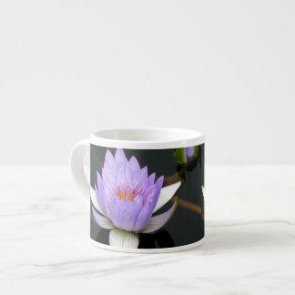 Lavender Water Lily 6 Oz Ceramic Espresso Cup