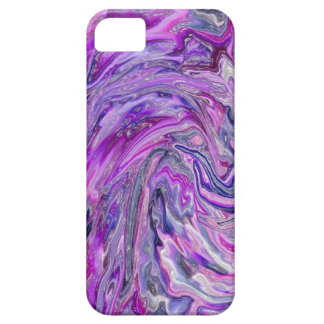 Lavender Wave Abstract Art iPhone 5 Case
