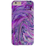 Lavender Wave Abstract Art iPhone 6 case Barely There iPhone 6 Plus Case