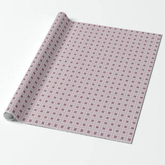 Lavender Weave Pattern Wrapping Paper