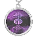 Lavender Wicca Pendant