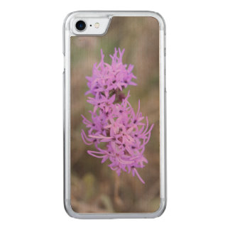 Lavender Wildflowers Carved iPhone 8/7 Case