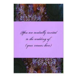 Lavender Wisteria Wedding Invitation