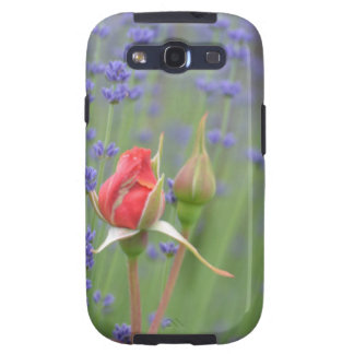 Lavender with Roses Samsung Galaxy S3 Cases