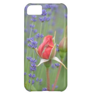 Lavender with Roses iPhone 5C Cover