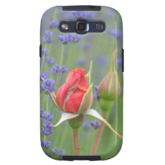 Lavender with Roses Galaxy SIII Case