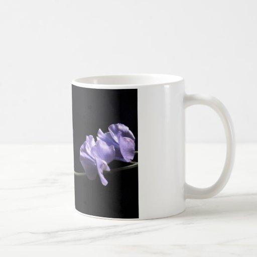 lavenders basic white mug