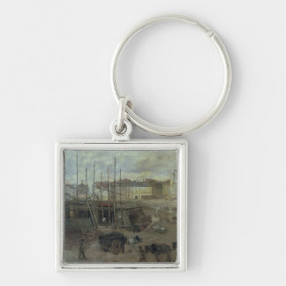 L'Avenue de L'Opera, 1878 Key Ring