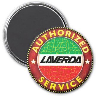 Laverda Motorcycles 7.5 Cm Round Magnet