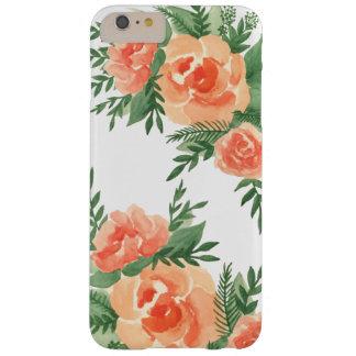 Lavish Garden iPhone Case - Peach Orange