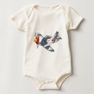 lavochkin la-7 baby bodysuit