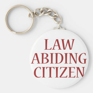 Law Abiding Citizen Basic Round Button Key Ring