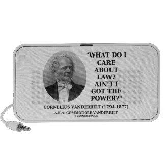 Law Ain't I Got The Power (Cornelius Vanderbilt) iPhone Speaker