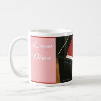Law Diva Mug Coffee Tea Java Lawyers Attorneys