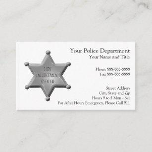 Sheriff office business cards zazzle uk law enforcement business card colourmoves
