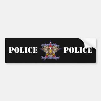 Law Enforcement Eagle Bumper Sticker