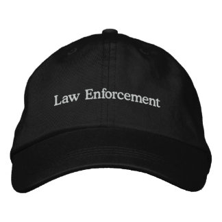 Law Enforcement Embroidered Cap