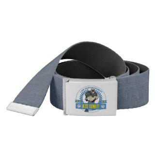 Law Enforcement K9 Unit Belt