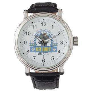 Law Enforcement K9 Unit Wristwatches