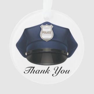 Law Enforcement - Police - Thank You Ornament