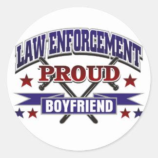 Law Enforcement Proud Boyfriend Stickers