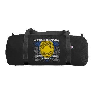 Law Enforcement Real Heroes Gym Duffel Bag