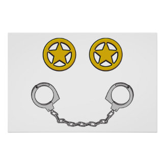 Law Enforcement Smile Poster