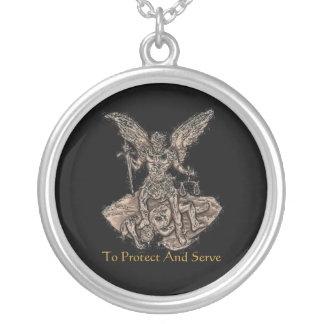Law enforcement St. Michael Custom Necklace