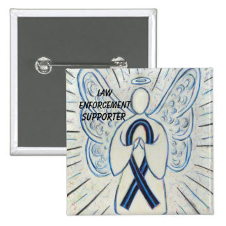 Law Enforcement Supporter Awareness Ribbon Pins