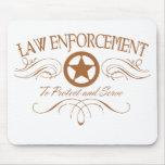 Law Enforcement Western Mouse Pads