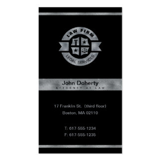 Law Firm | Legal Services Pack Of Standard Business Cards