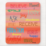 """LAW OF ATTRACTION"" MOUSE PAD"