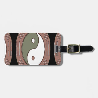 Law of Attraction - Ying Yang Travel Bag Tags