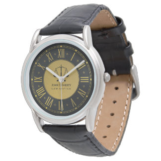 LAW OFFICE | Classic Personal Golden Watch
