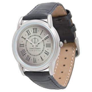 LAW OFFICE   Classic Personalizable Watch