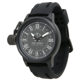 LAW OFFICE | Classic Personalizable Watch