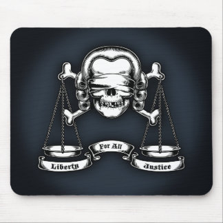 Law Pirate Mouse Pad