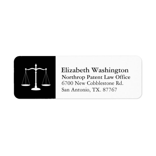 Law Professional Justice Scales Customised White