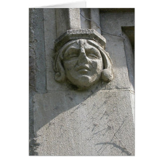 Law Quad Face Greeting Card