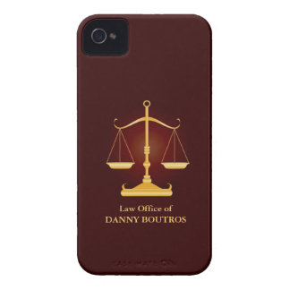 Law Scale iPhone 4/4S Case-Mate Barely There