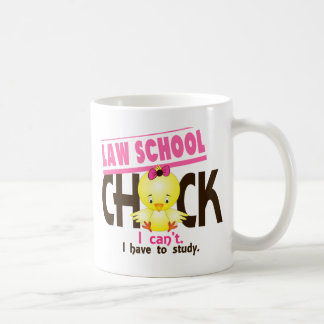 Law School Chick 1 Basic White Mug