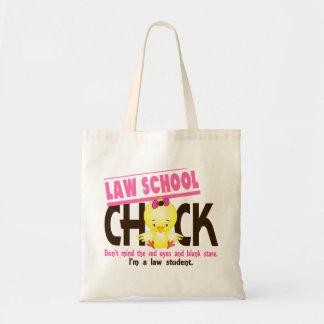 Law School Chick 2 Budget Tote Bag