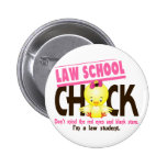 Law School Chick 2 Pinback Button