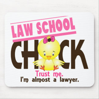 Law School Chick 3 Mouse Mat