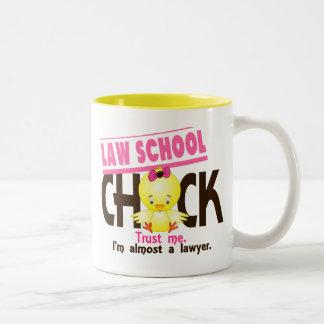 Law School Chick 3 Two-Tone Coffee Mug